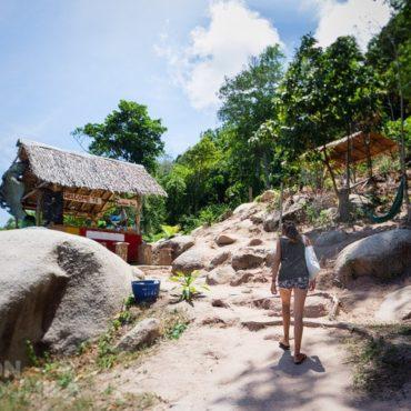 Zona central de Koh Tao