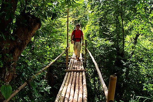 Trekking por Laos