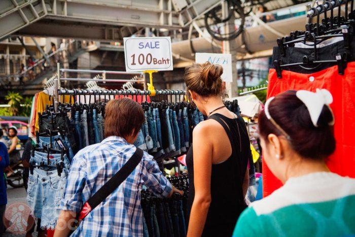 Compras en Khaosan