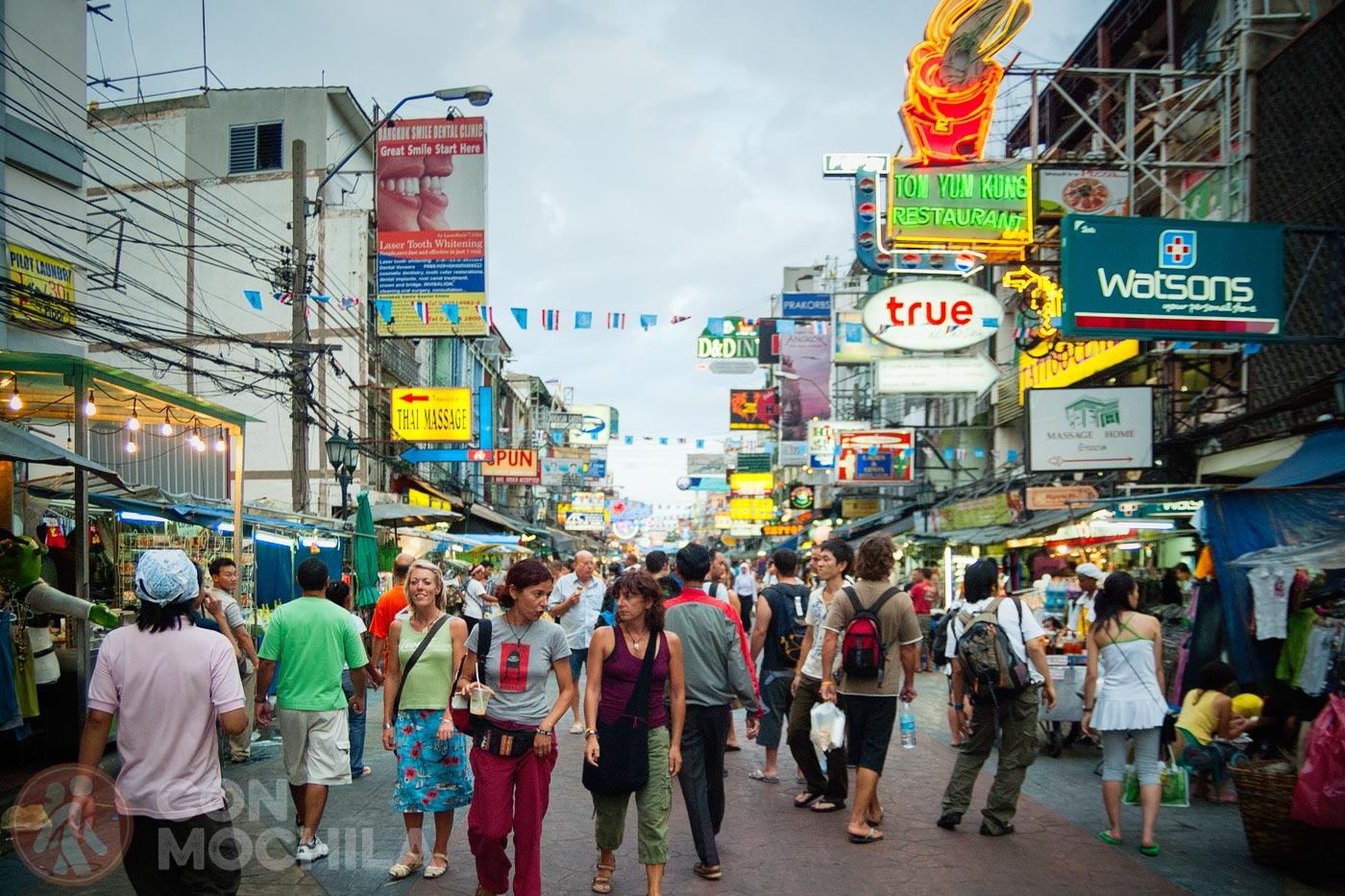 Bienvenido a Khaosan Road
