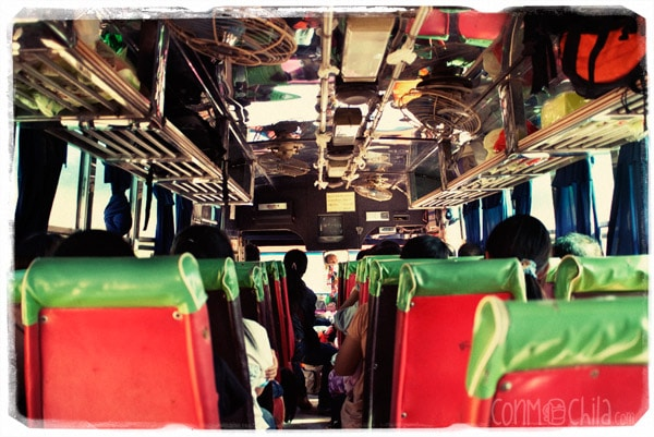 Bus Chiang Rai - Chiang Khon