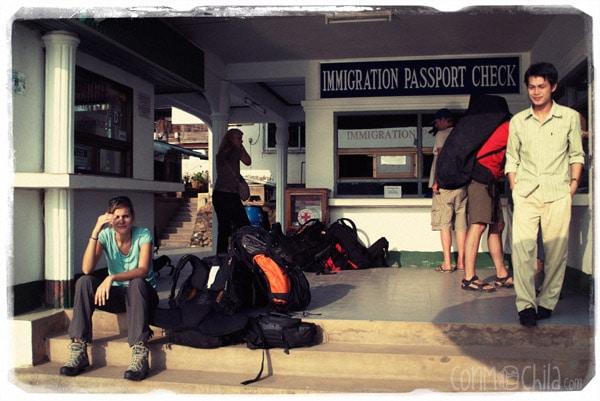 Huay Xai border post