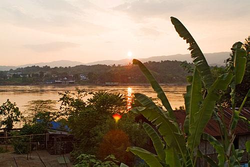 Huay Xai - Vistas de Tailandia desde Laos