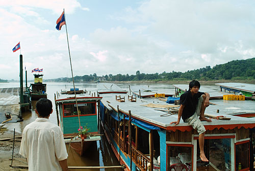 Embarcadero de Huay Xai