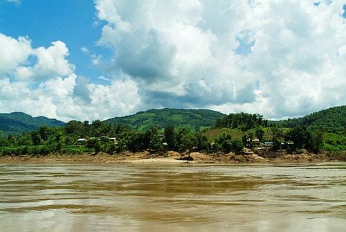 Paisaje en el Mekong