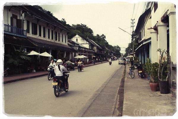 Calle de Luang Prabang