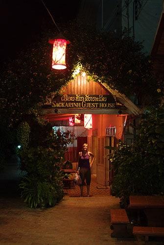Sackarin Guesthouse, en el centro de Luang Prabang