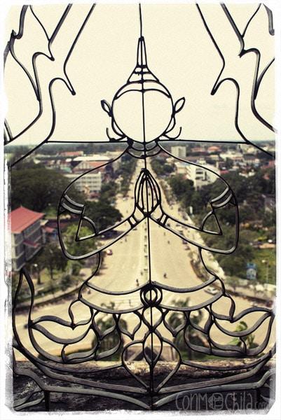 """Vista desde arriba del """"Arco del triunfo"""""""