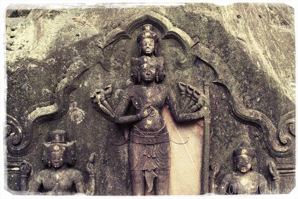 Las famosas ruinas de Champasak