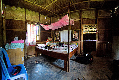 Bo Kung guesthouse, Vieng Phouka