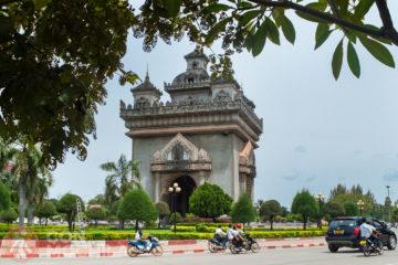 El Patuxai de Vientiane