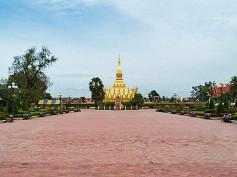 Pha That Luang en Vientiane, el monumento más importante de Laos