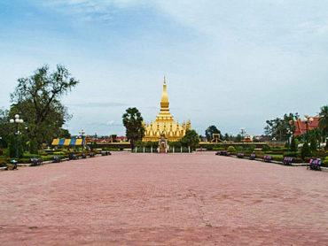 Pha That Luang en Vientiane