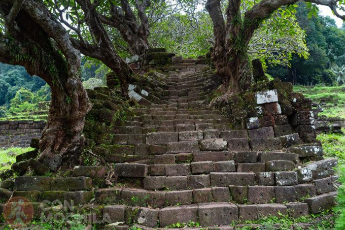 Y más escaleras...