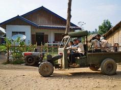 Vieng Phouka, el pueblo de Laos desde donde empezar un trekking