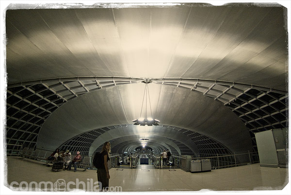 Aeropuerto de Suvarnabhumi en Bangkok