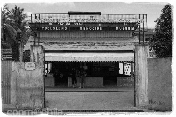 Entrada a Tuol Sleng