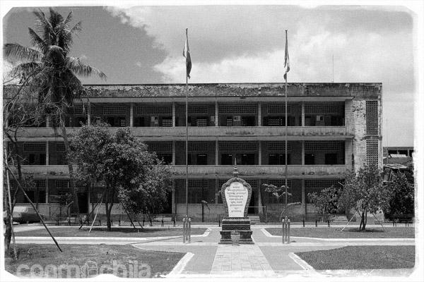 Edificio en Tuol Sleng