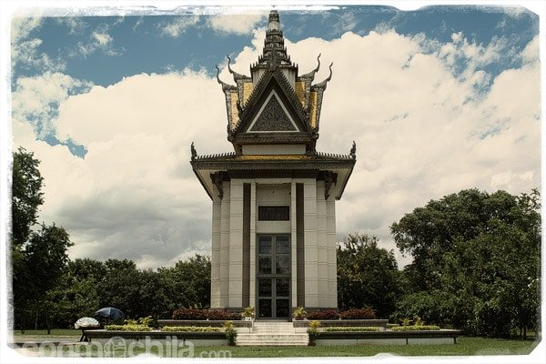 Monumento en memoria de los asesinados