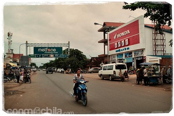 Entrada a Kompong Cham