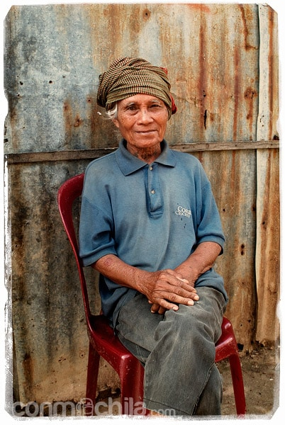Retrato de un señor con el krama