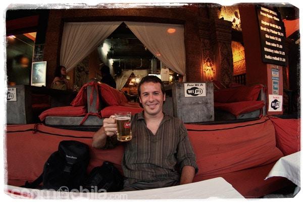 Esa cerveza en el Temple Club...