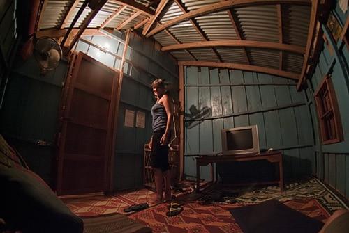 Una de las habitaciones para ver películas