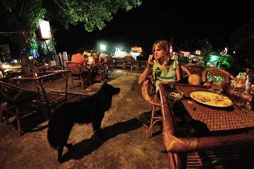 Xumo y Carme en Monorom restaurant