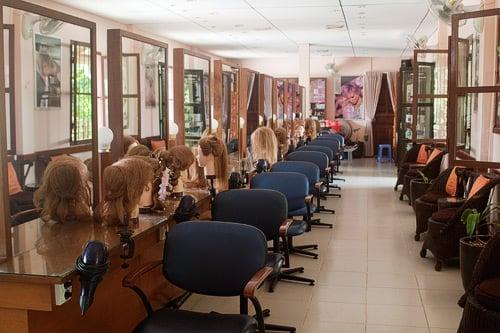 Salón para aprender peluquería