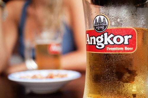 La deliciosa cerveza Angkor