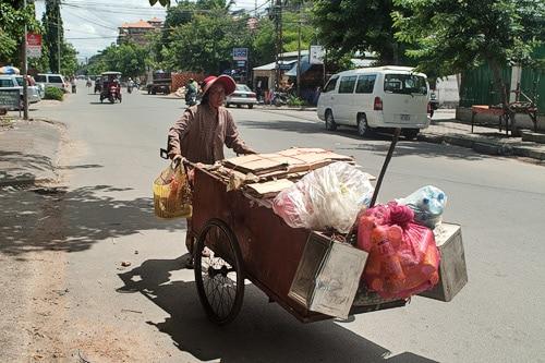 Las calles de Phnom Penh