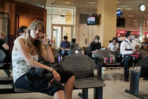 Nuestro adiós a Camboya en el aeropuerto de Phnom Penh
