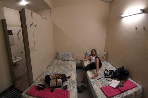 Nuestra habitación en Bangkok