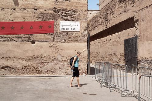 Entrada al Palacio el-Badi