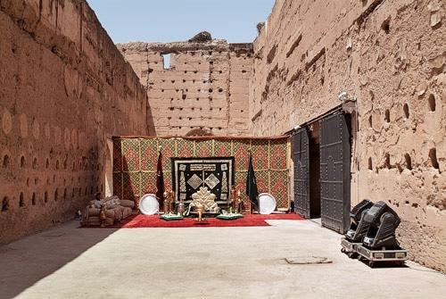 """""""Trono"""" de la entrada del palacio"""