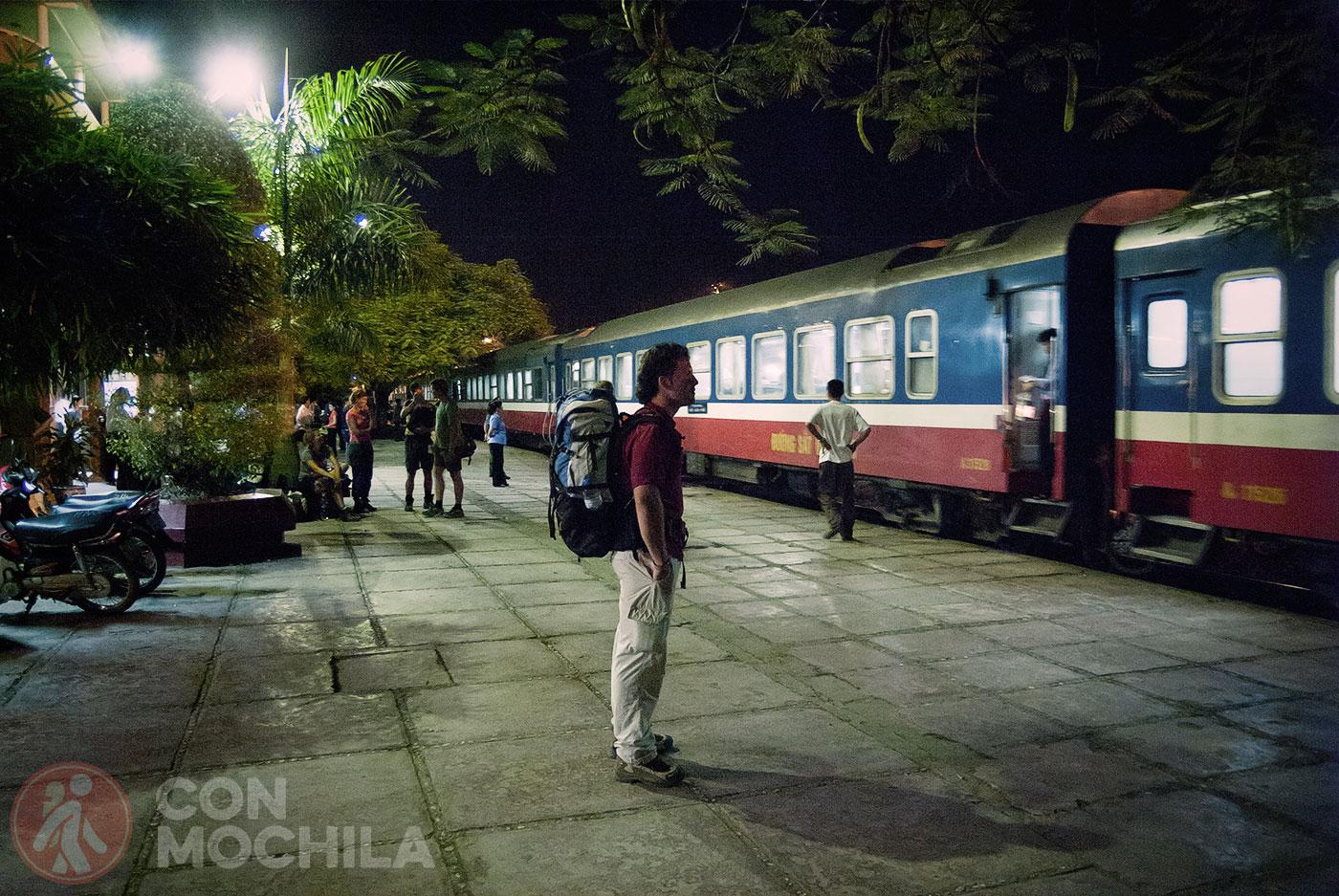 Tren nocturno a Sapa