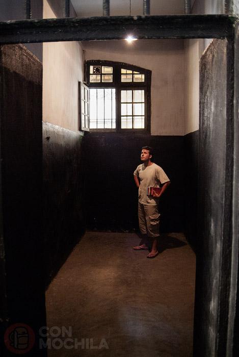 Interior de una de las celdas