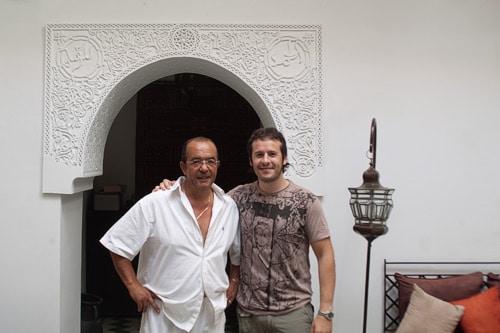 Michel, el dueño de la riad Dar Bennani