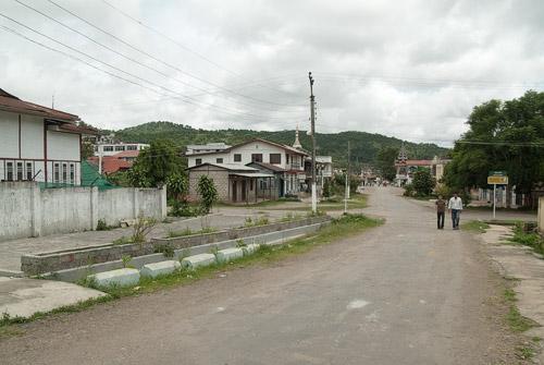 Las tranquilas calles de Kalaw