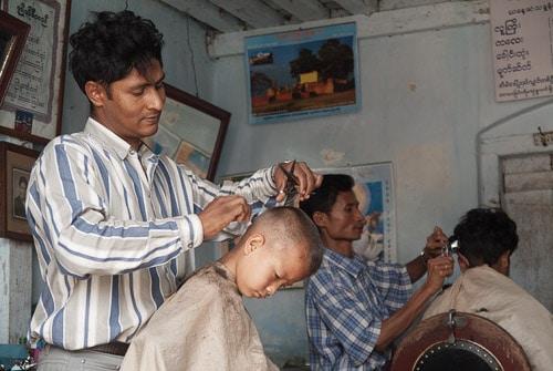 Barbería india