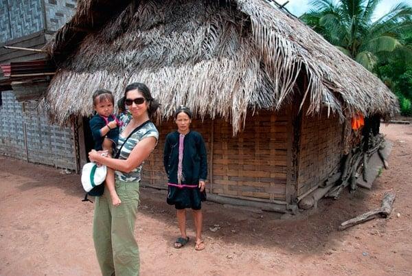 Ana en Laos