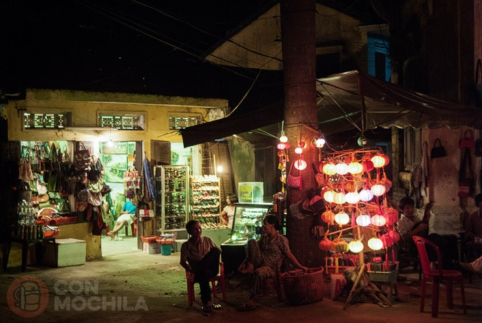 Rincón donde se oye la música tradicional