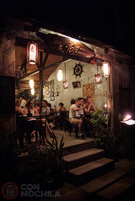 Uno de los restaurantes de Hoi An