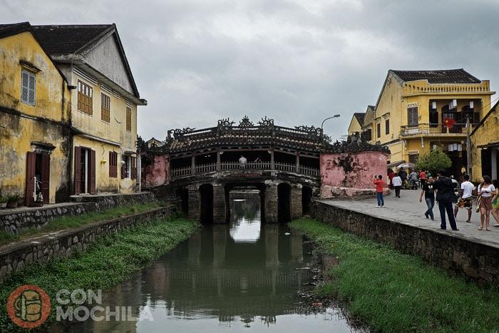 El puente cubierto japonés de Hoi An