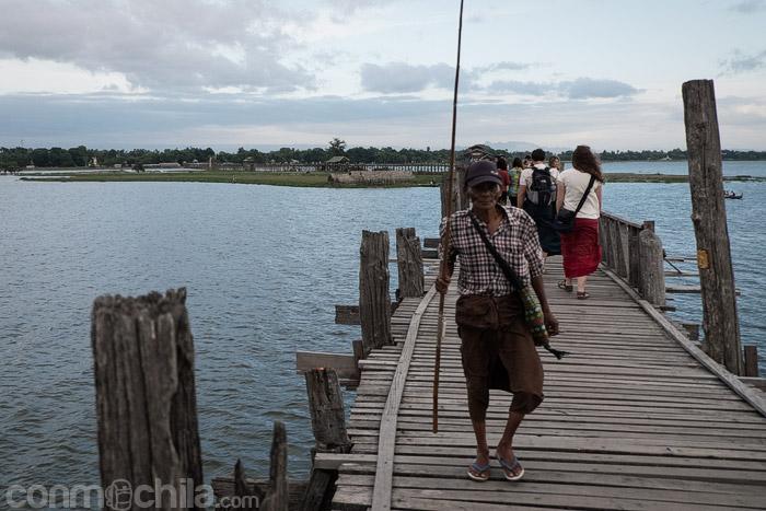 Uno de los pescadores