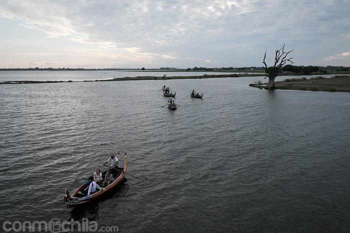 Los paseos en barca