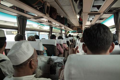 Autobús de Yangón a Kalaw