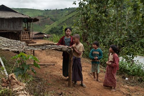 Niños de la aldea