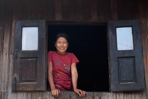 Las habituales sonrisas del pueblo de Myanmar