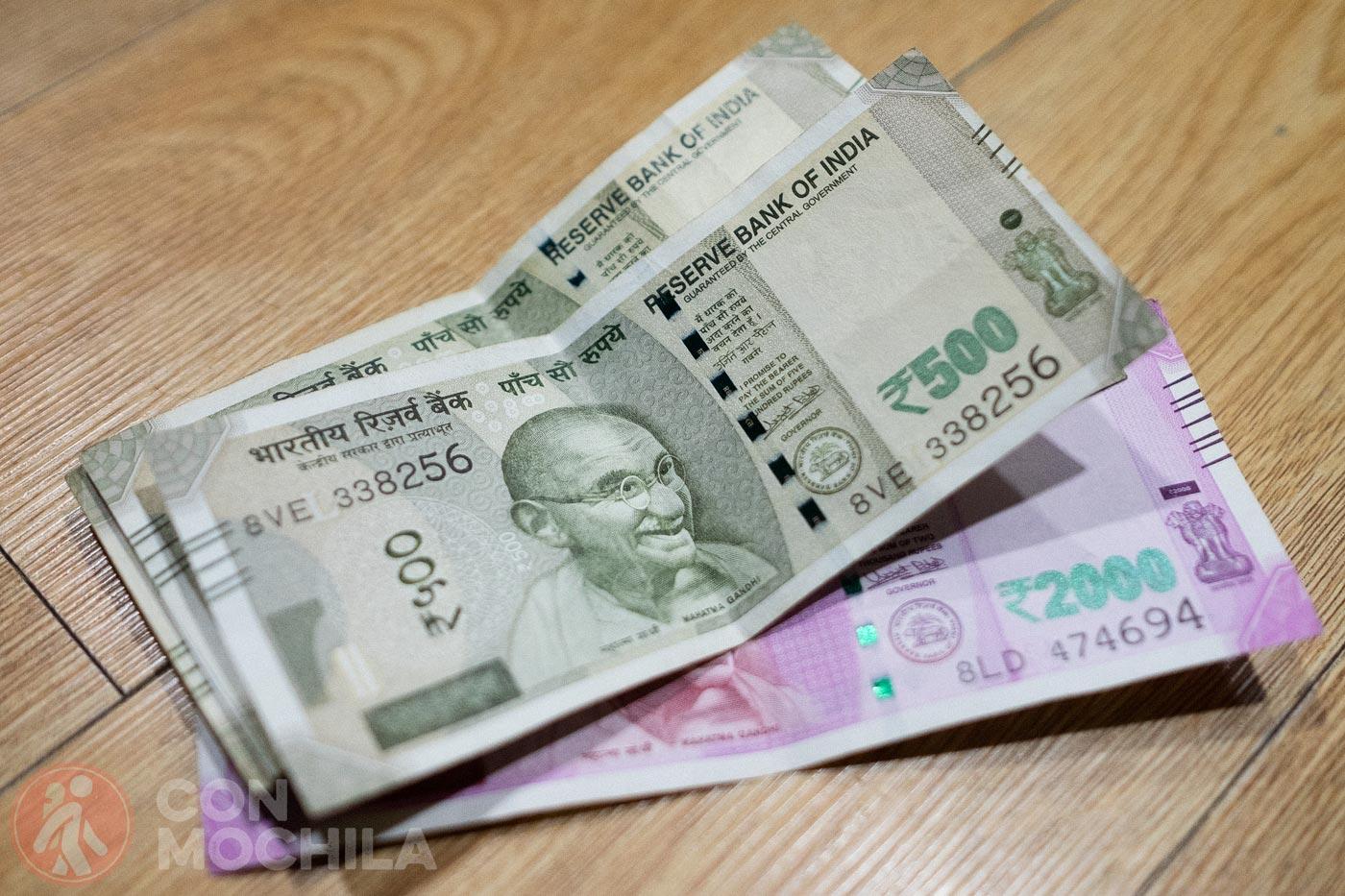ᐈ Moneda India Rupia El Cambio Tarjetas Y Cajeros Automáticos